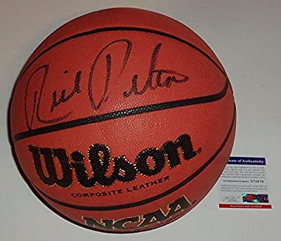 Rick Pitino signed NCAA Basketball Kentucky Wildcats (Y72879) Cardinals - PSA/DNA Certified - Autographed College Basketballs
