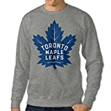 2016 Toronto Maple Leafs Logo Men's Round Neck Hoodies