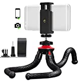 Flexible Tripod - TWZ Universal Octopus Style Durable and Lightweight Tripod for Phone/DSLR Cam/Gopro Action Cam