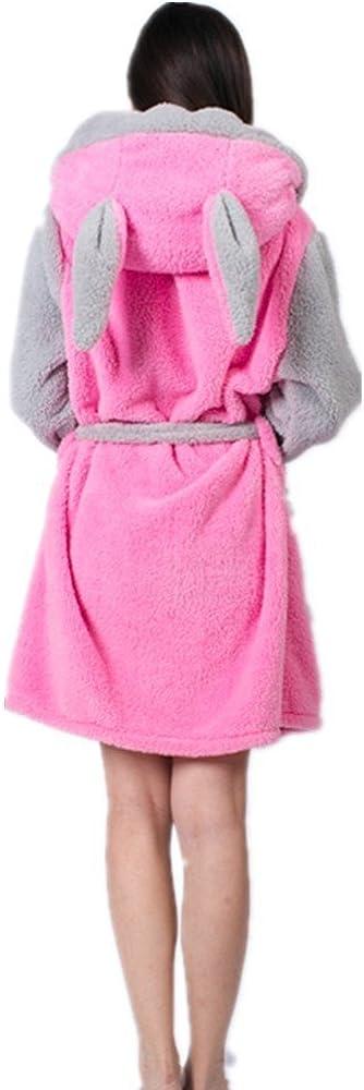 Woneart Fille Femme Peignoir de Bain avec Capuche V/êtements De Nuit Robe D/éguisement Combinaison Cosplay Pyjamas Grenouill/ère Animaux Costumes Adultes