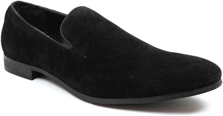 AZAR MAN New Men's Black Suede Slip on