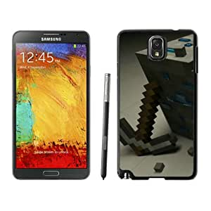 Beautiful And Antiskid Designed With Minecraft Game Samsung Galaxy Note 3 N900A N900V N900P N900T Black Cell Phone Case 084
