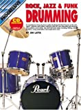 Rock, Jazz, and Funk Drumming, Jim Latta, 0947183183