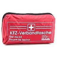 keine Angabe KFZ Auto Verbandkasten Verbandskasten ROT Erste Hilfe Din 13164 (MDH 06.2022)