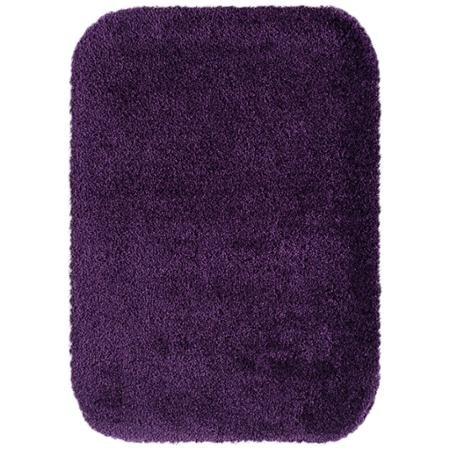Size 20x34 better homes and gardens extra soft bath rug eggplant food beverages tobacco food for Better homes and gardens bathroom rugs