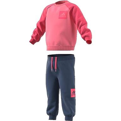adidas Kinder Fleece Jogger Sportanzug: : Bekleidung