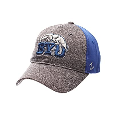 BYU Cougars Womens Harmony Snapback Hat (Gray) from Zephyr