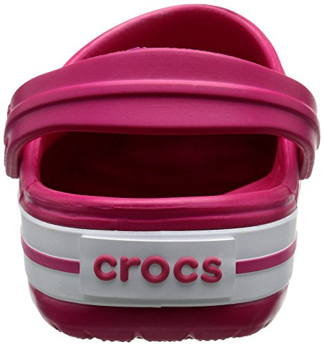 Crocs Crocband Clog Lampone / Bianco