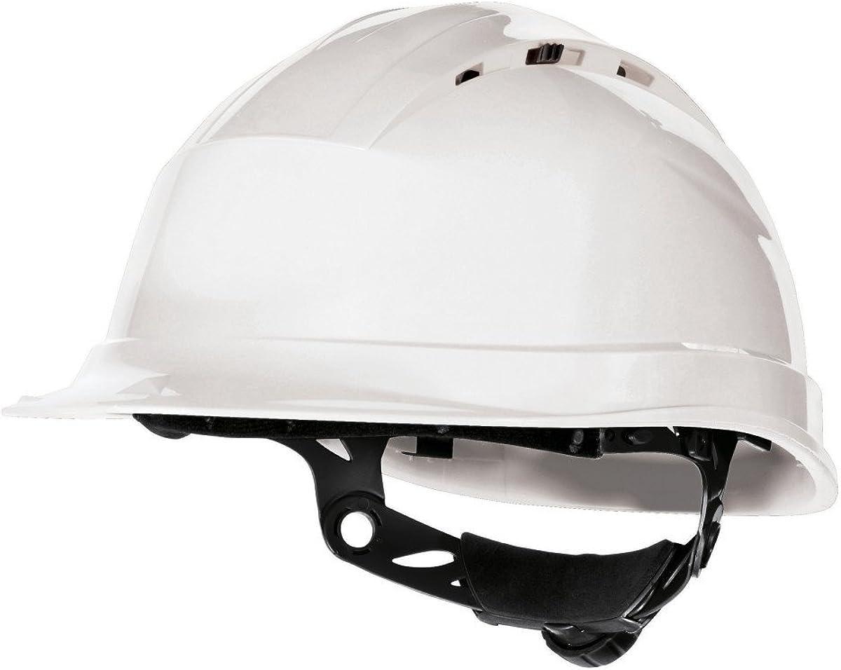 Delta plus - Casco de Seguridad en el Trabajo ventilado Modelo Quartz Rotor