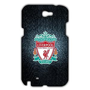 Fashion Design FC Liverpool FC Theme Football Club Phone Case Cover For Samsung Galaxy Note 2 3D Plastic Phone Case