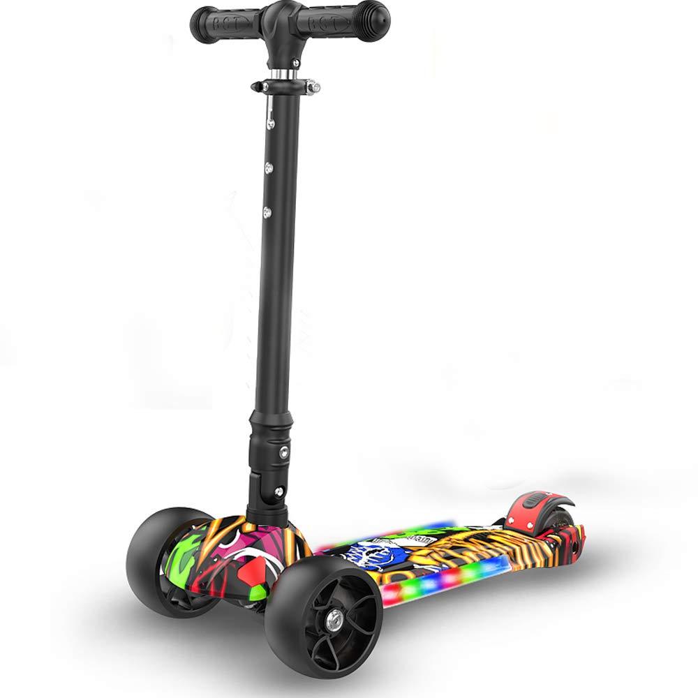 MC-BLL-Children skateboard Patineta niño Coche 2-6-7-8-10-14 años niña Principiante Scooter
