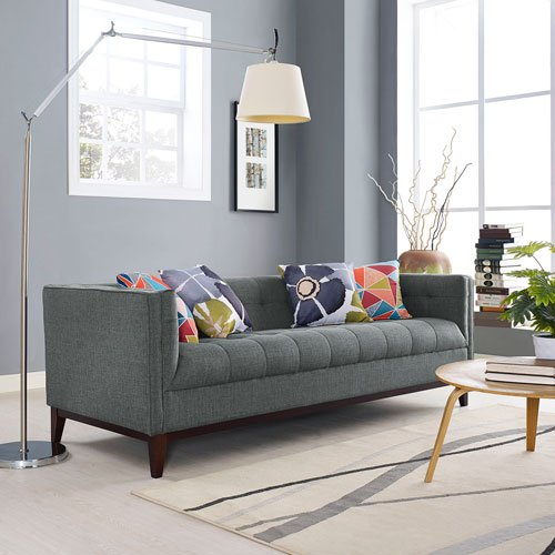 Modway Serve Sofa, Gray