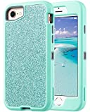 ULAK Sparkly Glitter Case for iPhone 8, iPhone 7 Case, iPhone 6 Case