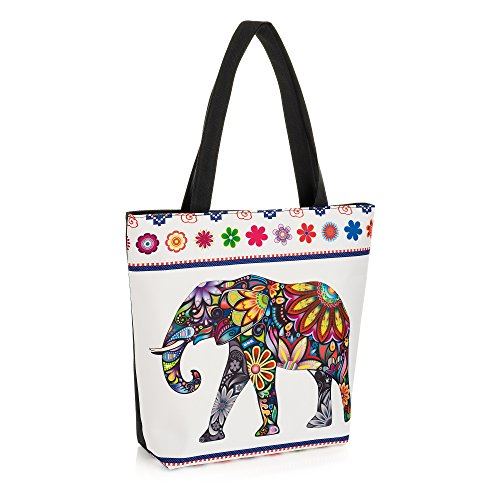 Pritties Accessories, Borsa tote donna multicolore Multi taglia unica