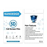 NEW SAMSUNG GALAXY S9/5D FULL EDGE FILM SCREEN PROTECTOR/HD TRANSPARENT/ANTI SHOCK/ANTI SLIDE/FULL EDGE DESIGN