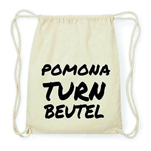 JOllify POMONA Hipster Turnbeutel Tasche Rucksack aus Baumwolle - Farbe: natur Design: Turnbeutel