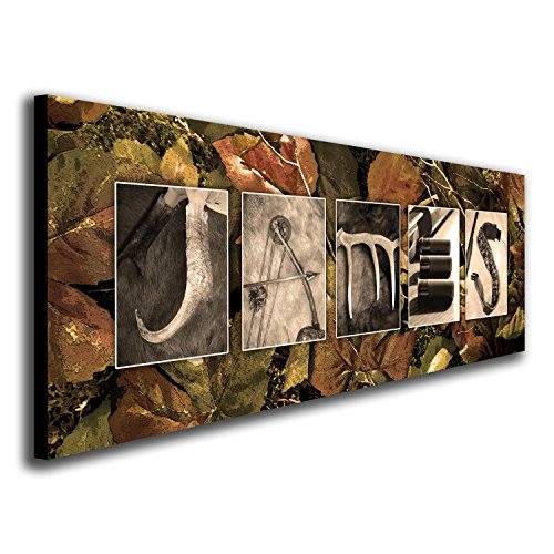 Personalized Hunting Name Art hunter