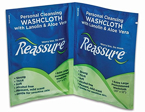 Reassure Travel Pack Washcloths (50) by Reassure (Image #1)