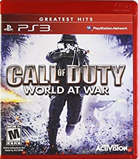 Call of Duty: World at War Greatest Hits - Playstation 3 by Artist Not Provided (B001AWBYNE) | Amazon price tracker / tracking, Amazon price history charts, Amazon price watches, Amazon price drop alerts