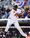 Kennys Vargas Minnesota Twins At Bat Signed Autographed 8x10 Photo JSA M4