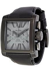 TW Steel Men's CE3014 CEO Goliath Black Leather Strap Watch