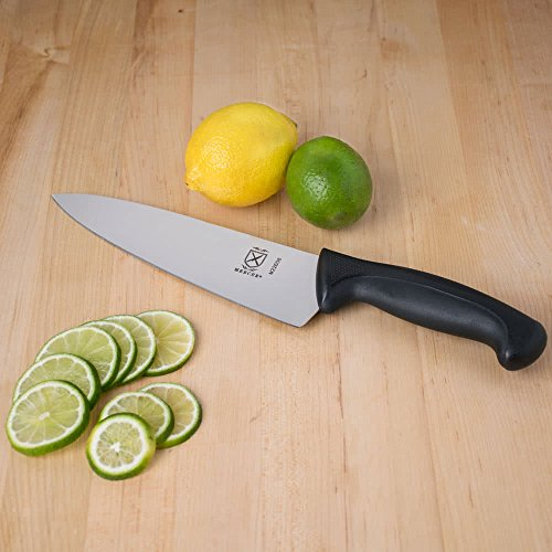 Mercer Culinary M22608 Millennia 8-Inch Chef's Knife, Black