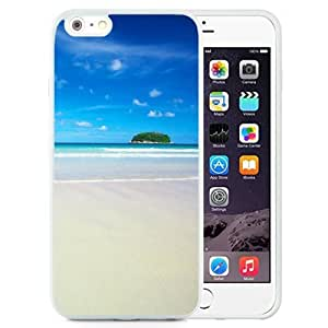 Unique and Attractive TPU Cell Phone Case Design with Drops on Window iPhone 6 plus 4.7 inch Wallpaper in White