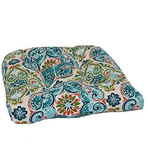 Brentwood Originals 35406 Indoor/Outdoor Wicker Chair Cushion, Monaco Spice
