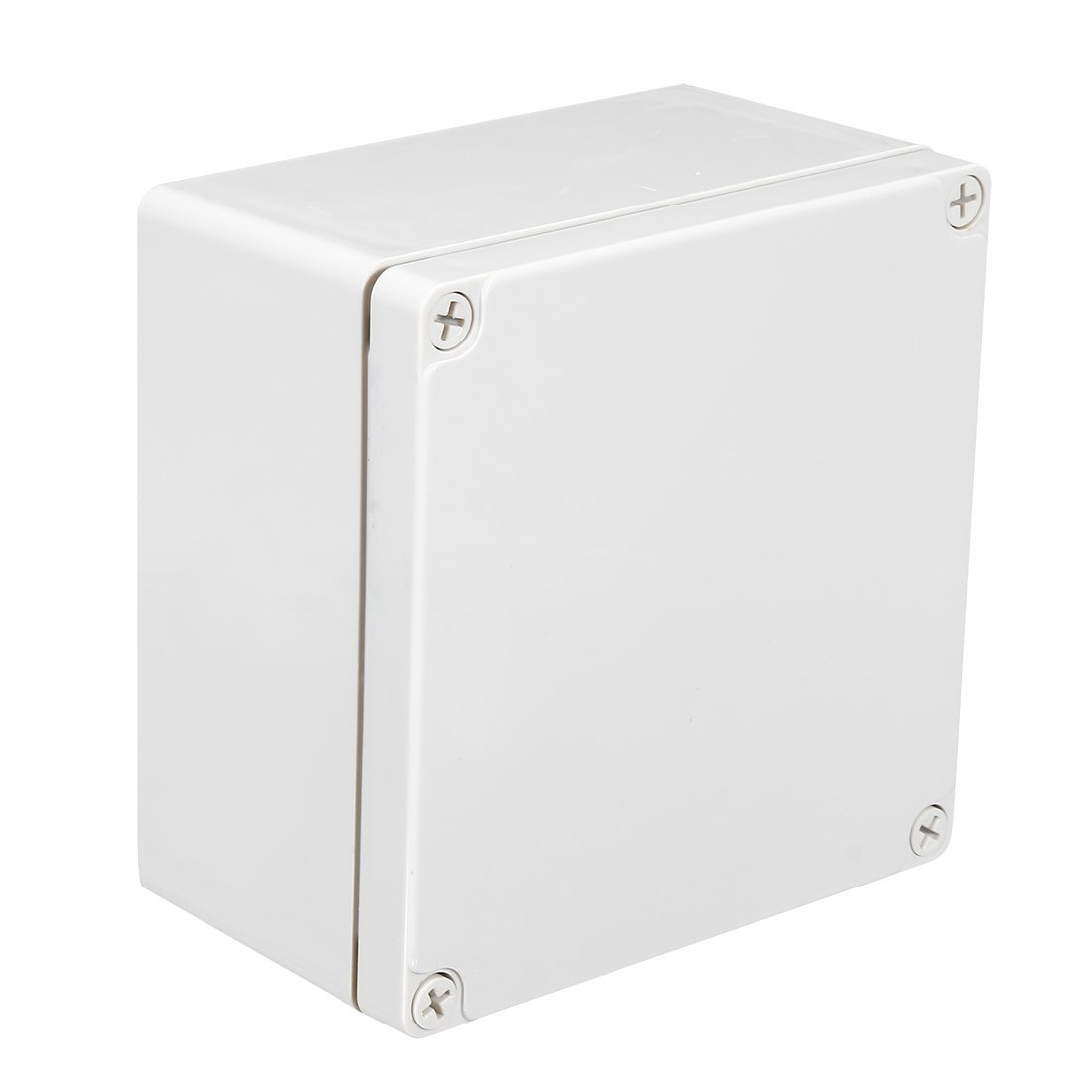 uxcell 160x160x90mm/6.3x6.3x3.54inch Wateproof IP67 Electronic ABS Plastic DIY Junction Project Box Enclosure Case Outdoor/Indoor a18031600ux0134