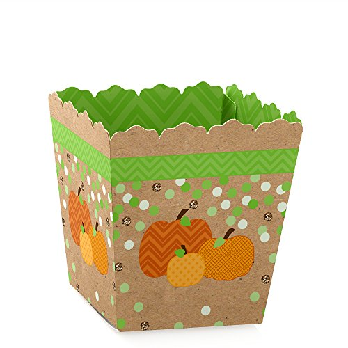 Pumpkin Patch - Candy Boxes Fall & Halloween Party Favors (Set of (Quick And Simple Halloween Treats)