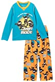 Komar Kids Boy's Ninja Mode 2 Piece Pajama Set, Kids Size M(8)