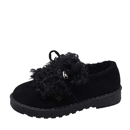 Zarupeng Zapatos Botas de Mujer Mocasines de Cuero Gamuza Moda Loafers Casual Zapatos: Amazon.es: Zapatos y complementos