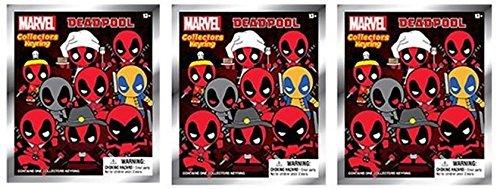 One Random Marvel Spider-Man Blind Bag Foam Figure Keyring