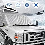 BougeRV RV Windshield Window Snow Cover for Class C