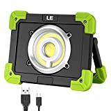 LE 20W Portable LED Work Light USB Rechargeable Camping Lantern IP44 Waterproof Power Bank Outdoor Walking Hiking Emerge