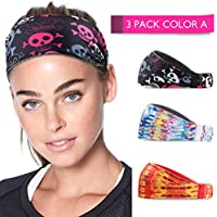 Running Headband Sweat Instant Absorbent Head bands for...