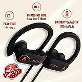Best Bluetooth Workout Headphones W Microphones - AHADU Bluetooth Headphones, AHBT-101, Best Wireless Sport Workout Review