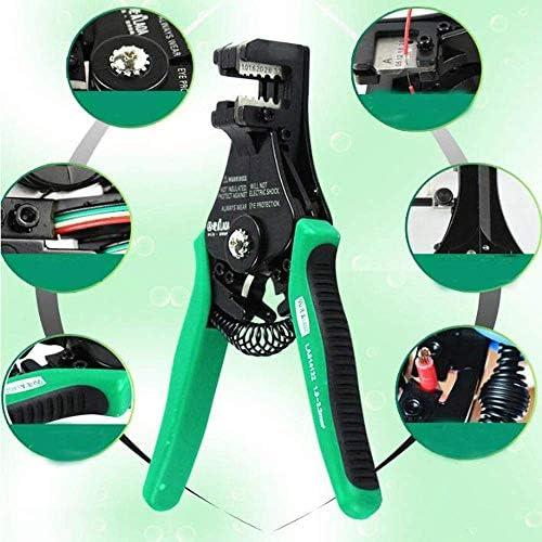 家の修理に適したプライヤーツールプライヤー、つまり屋外メンテナンスプライヤー、グリーンの多機能自動ケーブルプルプライヤーセット、