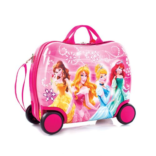 Heys 181259038539 Disney Princess Ride-On Luggage by Heys
