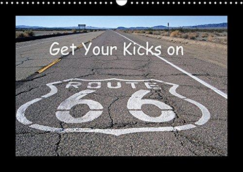 Get Your Kicks on Route 66 (Wandkalender 2017 DIN A3 quer): Die Route 66, auch Mother Road genannt, ist legendär. Auch heute noch kann man einen ... (Monatskalender, 14 Seiten ) (CALVENDO Orte)