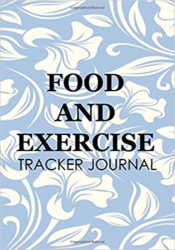 food and exercise tracker journal food exercise journal dartan