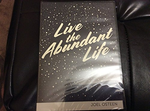 Message Mp3 (Live the Abundant Life - Joel Osteen 3 message cd set)