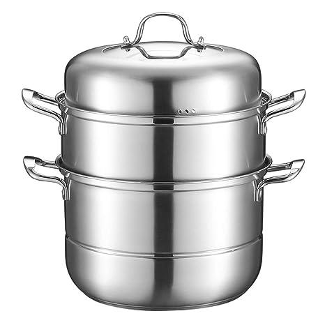 Nueva vaporera de acero inoxidable | Utensilios de cocina ...