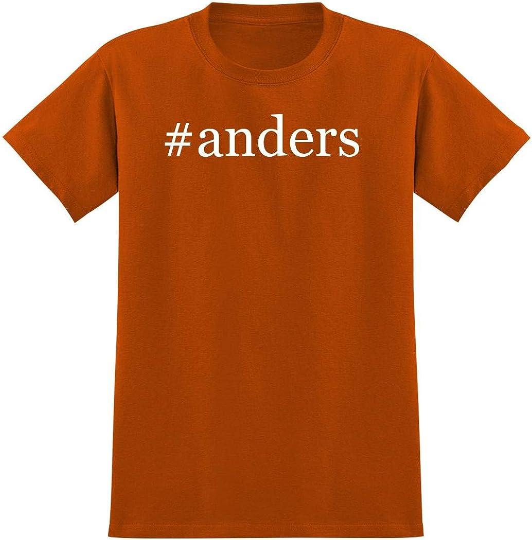 #anders - Hashtag Men's Graphic T-Shirt, Orange, Large 51Lzsbi2O0L