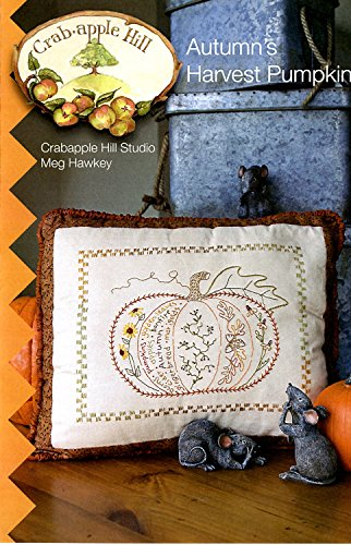Autumn's Harvest Pumpkin Embroidery Pattern by Meg Hawkey From Crabapple Hill Studio #304 - 9