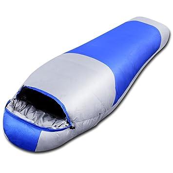 ZXQZ Saco de dormir momia / saco de dormir de plumón / impermeable a prueba de agua / adulto ...