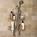 Hawthorne Expanding Shower Caddy, Satin Nickel