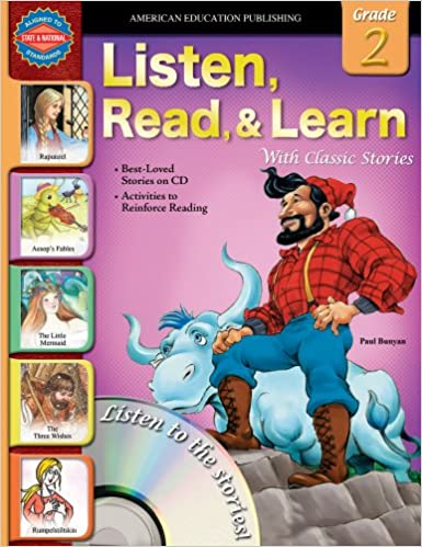 Amazon com: Listen, Read, and Learn With Classic Stories, Grade 2