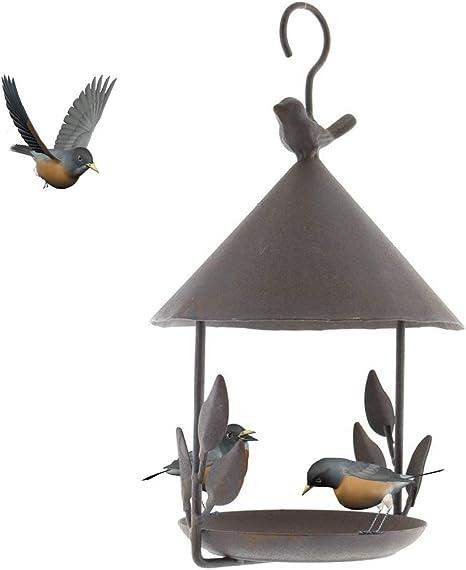 Vogelhäuschen Futterröhre Aufhängen Edelstahl Vogel Vogelhaus Vogelfutterhaus