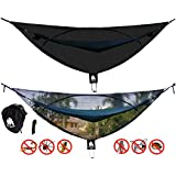 """CHILL GORILLA 11' BUG NET Stops Mosquitos, No See Ums & Repels Insects. Fits ALL Camping Hammocks. Compact, Lightweight. Eno Accessory. Fast Easy Setup. Size 132"""" x 51"""""""